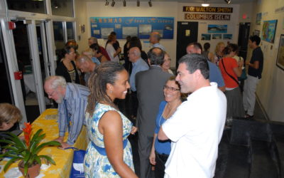 'Islands of the Sun' book signing and art show at University of Miami, November 2010