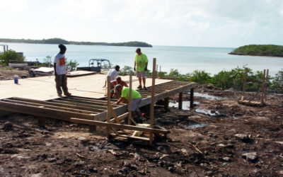 Construction of the Darby Island Research Station! November 2008 to June 2009